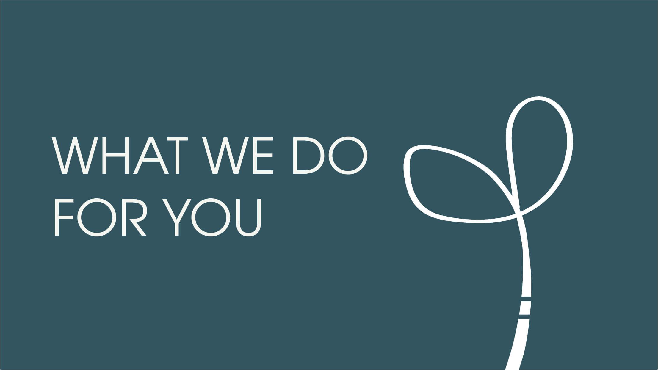 What We Do For You Interior Design
